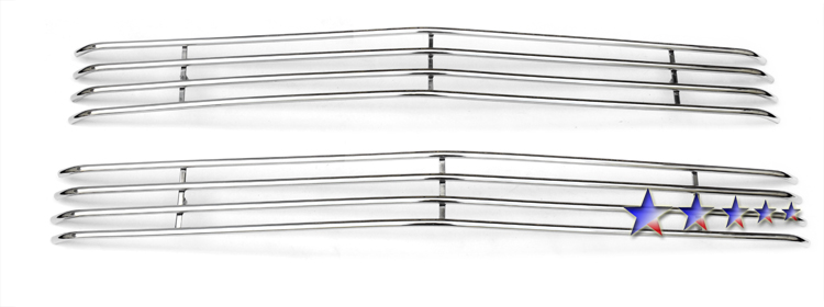 Chevrolet Full Size Pickup  1994-1999 Polished Main Upper Tubular Grille