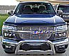 2011 Chevrolet Colorado   Polished Main Upper Tubular Grille