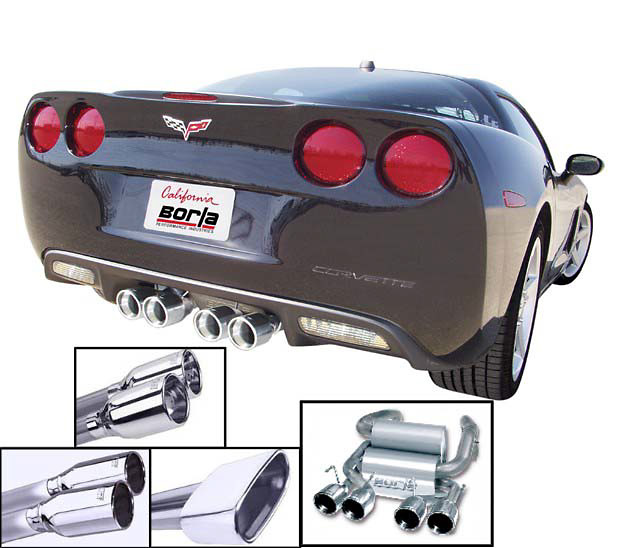 Chevrolet Corvette 2005 (C6) Borla Cat-Back Exhaust