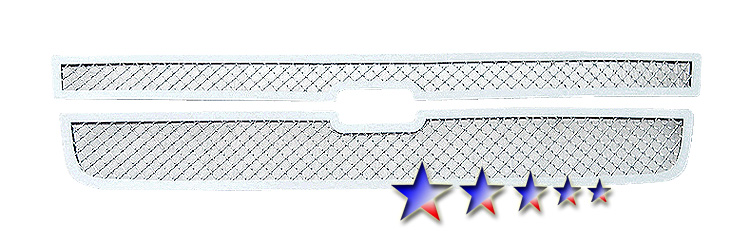 Chevrolet Silverado 3500 2007-2007 Chrome Main Upper Mesh Grille