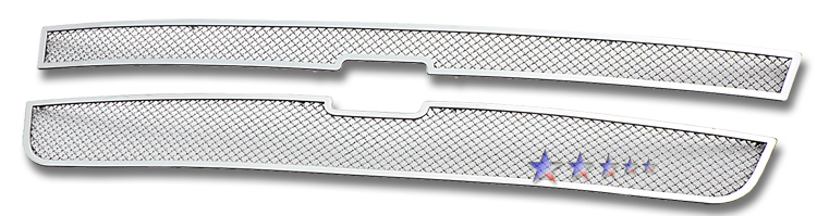 Chevrolet Silverado 3500 2005-2006 Chrome Main Upper Mesh Grille