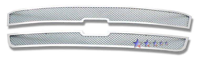 Chevrolet Silverado 3500 2003-2004 Chrome Main Upper Mesh Grille