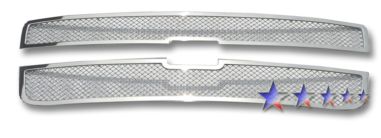 Chevrolet Uplander  2005-2008 Chrome Main Upper Mesh Grille