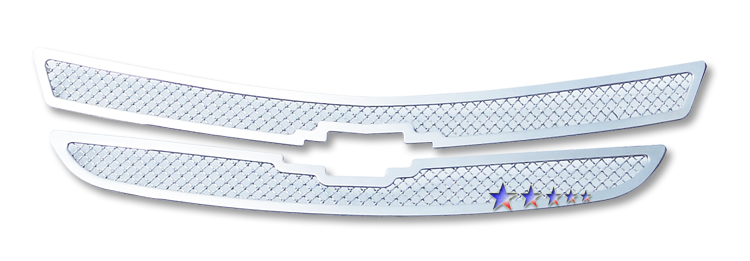 Chevrolet Impala  2000-2005 Chrome Main Upper Mesh Grille