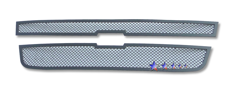 Chevrolet Colorado  2004-2012 Black Powder Coated Main Upper Black Wire Mesh Grille