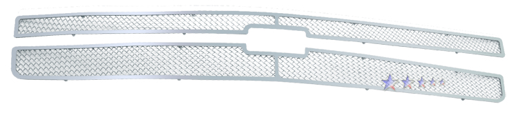 Chevrolet Silverado 1500 2007-2012 Chrome Main Upper Mesh Grille