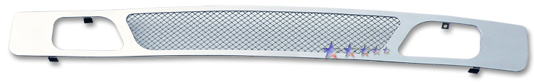 Chevrolet Silverado 1500 2007-2012 Chrome Lower Bumper Mesh Grille