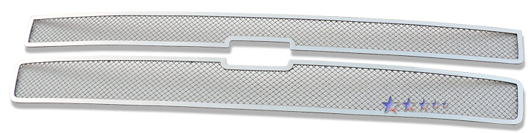 Chevrolet Silverado 3500 Hd 2007-2010 Chrome Main Upper Mesh Grille