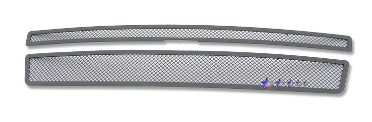 Chevrolet Suburban  2007-2012 Black Powder Coated Main Upper Black Wire Mesh Grille