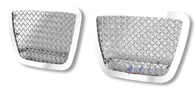 Chevrolet Suburban  2007-2012 Chrome Lower Bumper Mesh Grille
