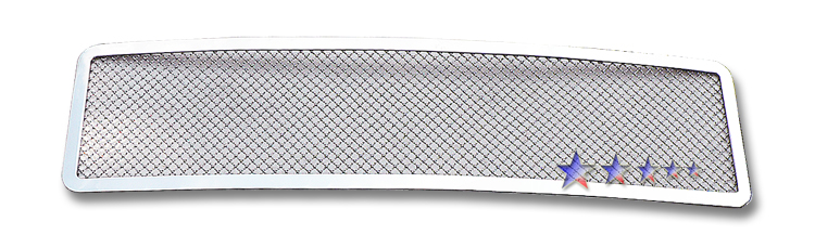 Hummer H2  2003-2007 Chrome Main Upper Mesh Grille