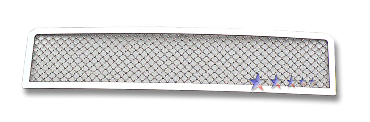 Hummer H2  2003-2007 Chrome Lower Bumper Mesh Grille