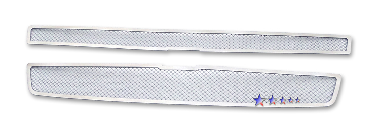 Chevrolet Tahoe Hybrid 2009-2012 Chrome Main Upper Mesh Grille