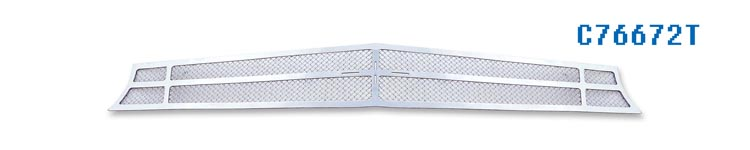 Chevrolet Camaro SS 2010-2012 Chrome Main Upper Mesh Grille