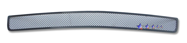 Chevrolet Camaro Rs 2010-2012 Black Powder Coated Lower Bumper Black Wire Mesh Grille