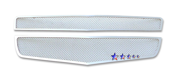 Chevrolet Traverse  2009-2012 Chrome Main Upper Mesh Grille