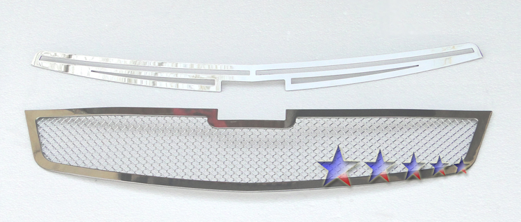 Chevrolet Cruze  2011-2012 Chrome Main Upper Mesh Grille