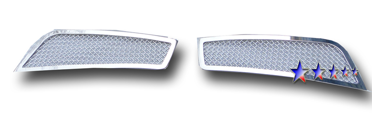 Chevrolet Cruze  2011-2012 Chrome Fog Light Mesh Grille