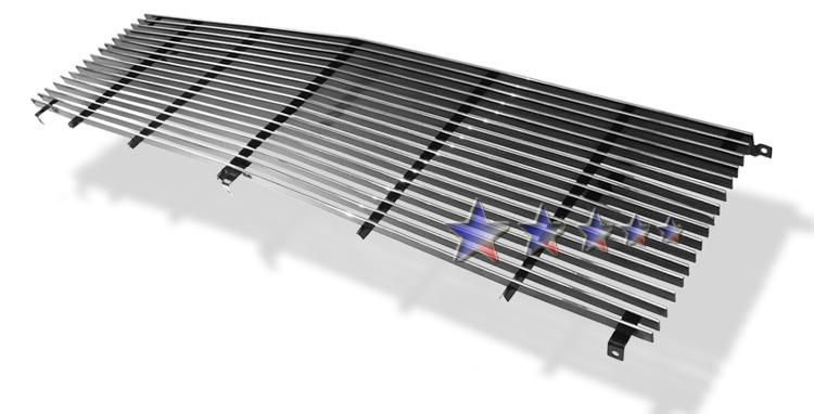 Gmc Suburban  1981-1987 Polished Main Upper Aluminum Billet Grille