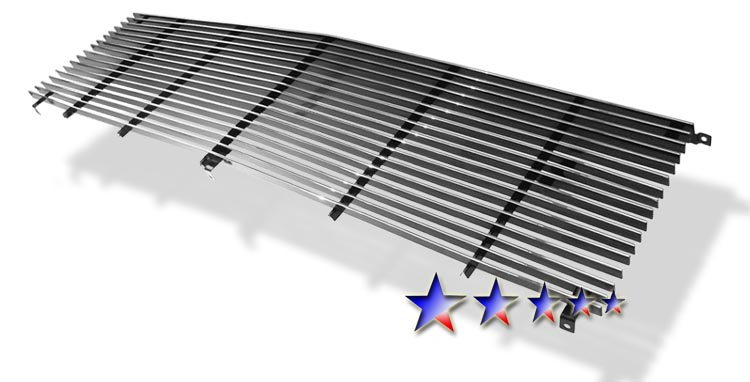 Gmc Full Size Pickup  1981-1987 Polished Main Upper Stainless Steel Billet Grille