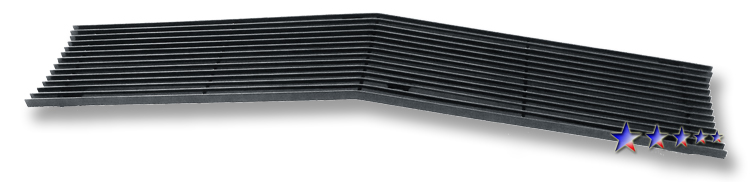 Chevrolet Full Size Pickup  1969-1972 Black Powder Coated Main Upper Black Aluminum Billet Grille