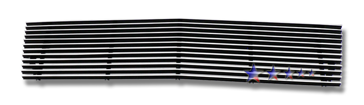 Chevrolet S-10 Pickup  1982-1990 Polished Main Upper Aluminum Billet Grille