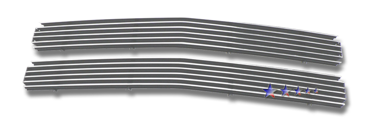 Chevrolet Tahoe  1995-1999 Polished Main Upper Aluminum Billet Grille