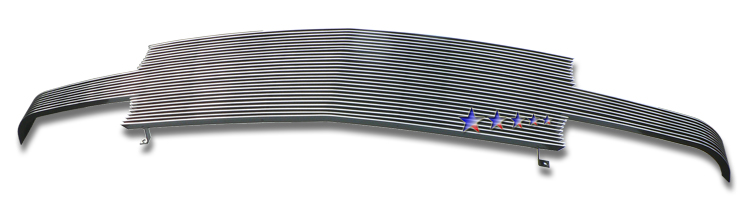 Chevrolet Silverado 1500 1999-2002 Polished Main Upper Aluminum Billet Grille