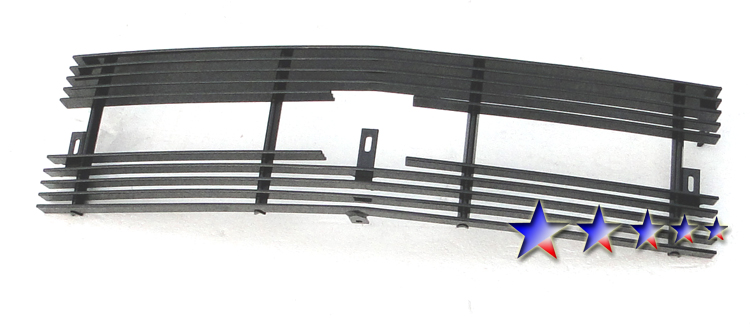 Chevrolet Blazer  1998-2005 Black Powder Coated Main Upper Black Aluminum Billet Grille