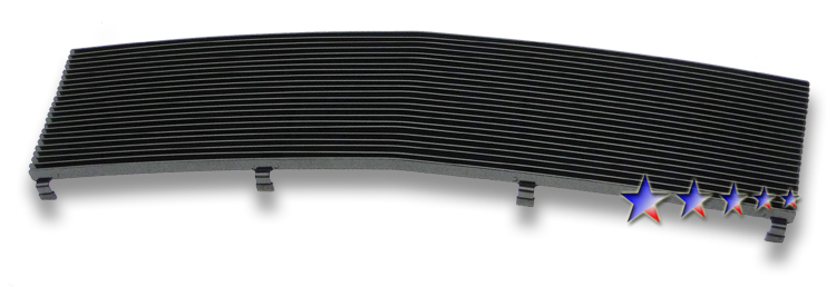 Chevrolet Astro  1985-1994 Black Powder Coated Main Upper Black Aluminum Billet Grille