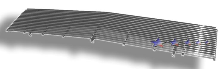 Chevrolet Blazer  1988-1988 Polished Main Upper Aluminum Billet Grille