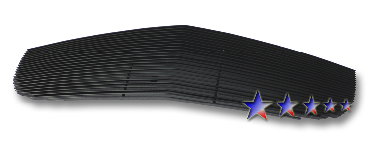 Chevrolet Hhr  2006-2011 Black Powder Coated Main Upper Black Aluminum Billet Grille