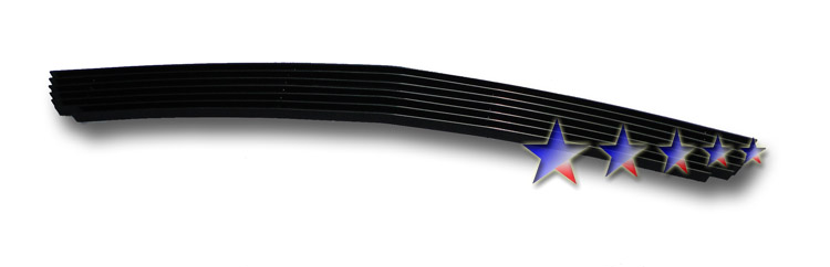 Chevrolet Hhr  2006-2011 Black Powder Coated Lower Bumper Black Aluminum Billet Grille