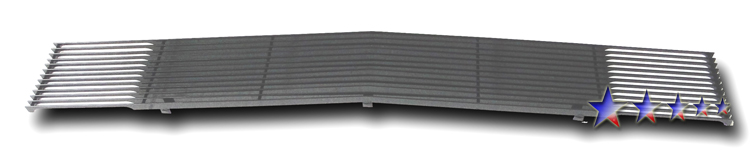 Chevrolet S-10 Pickup  1991-1993 Black Powder Coated Main Upper Black Aluminum Billet Grille