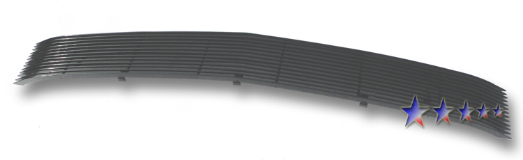 Chevrolet S-10 Pickup  1994-1997 Black Powder Coated Main Upper Black Aluminum Billet Grille