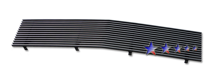 Chevrolet Malibu  1982-1983 Polished Main Upper Aluminum Billet Grille