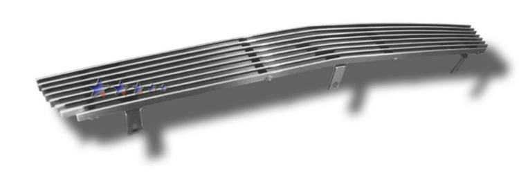 Chevrolet Silverado 1500 SS 2003-2006 Polished Lower Bumper Aluminum Billet Grille