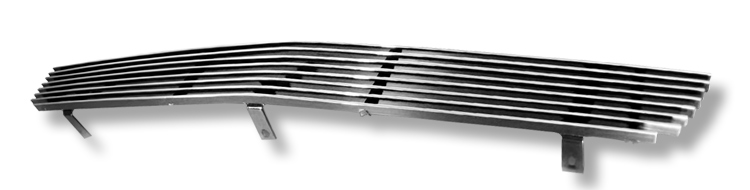 Chevrolet Silverado 1500 SS 2003-2006 Polished Lower Bumper Stainless Steel Billet Grille