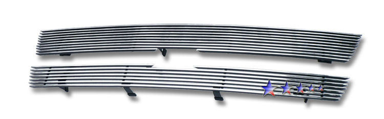 Chevrolet Trailblazer SS 2002-2005 Polished Main Upper Stainless Steel Billet Grille