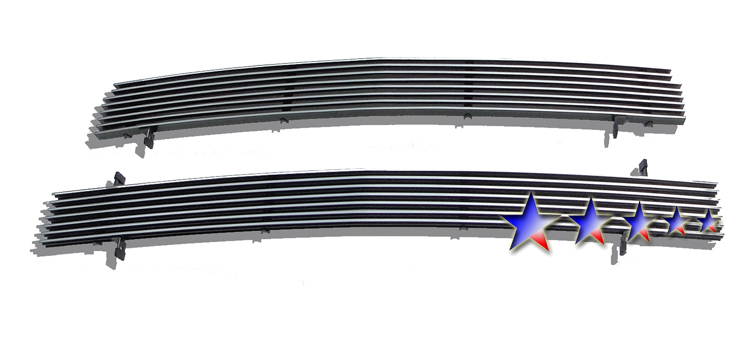 Chevrolet Silverado 3500 2001-2002 Polished Main Upper Aluminum Billet Grille