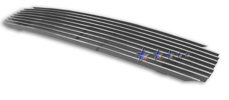 Chevrolet Impala SS 1994-1996 Polished Main Upper Aluminum Billet Grille