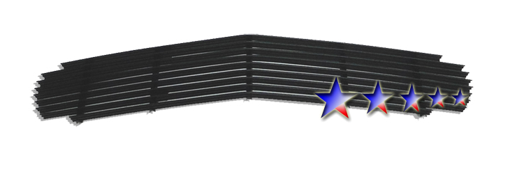 Chevrolet Camaro  1998-2003 Black Powder Coated Main Upper Black Aluminum Billet Grille