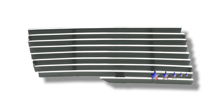 Chevrolet Kodiak  2003-2009 Polished Side Vent Aluminum Billet Grille