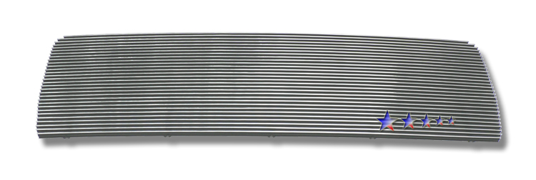 Chevrolet Kodiak  2003-2009 Polished Main Upper Aluminum Billet Grille