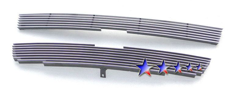 Chevrolet Colorado Xtreme 2004-2010 Polished Main Upper Aluminum Billet Grille