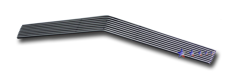 Chevrolet Camaro  1978-1981 Black Powder Coated Lower Bumper Black Aluminum Billet Grille