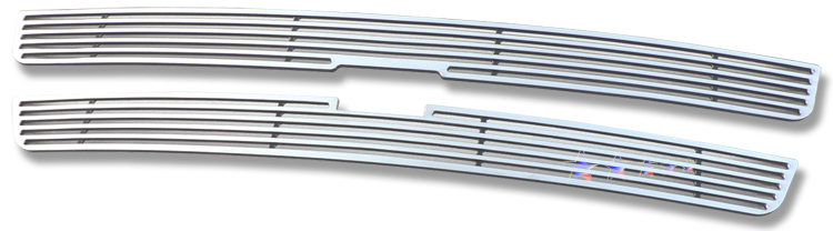 Chevrolet Silverado 1500/1500hd/2500/2500hd/3500 1999-2002 Polished Main Upper Perimeter Grille
