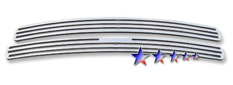 Chevrolet S-10 Pickup  1998-2004 Polished Main Upper Perimeter Grille