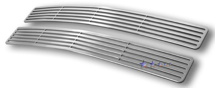 Chevrolet Suburban  1994-1999 Polished Main Upper Perimeter Grille