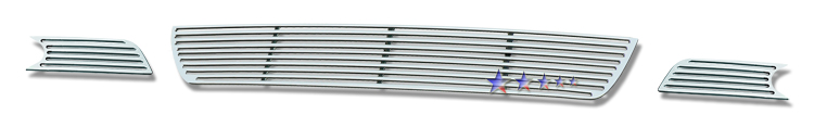Chevrolet Impala  2006-2012 Polished Lower Bumper Perimeter Grille